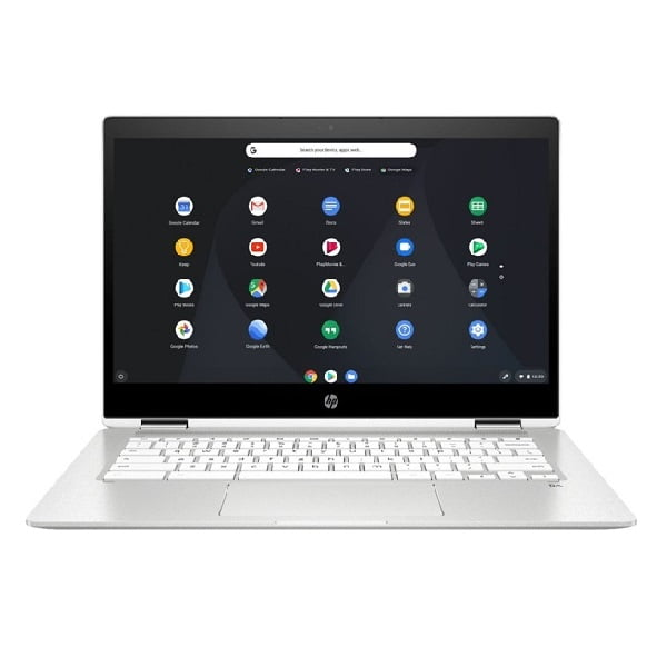 HP 14B CA0013DX Chromebook 2 in 1 Intel Celeron 4GB 32GB 14 Touch Screen Ceramic White 4
