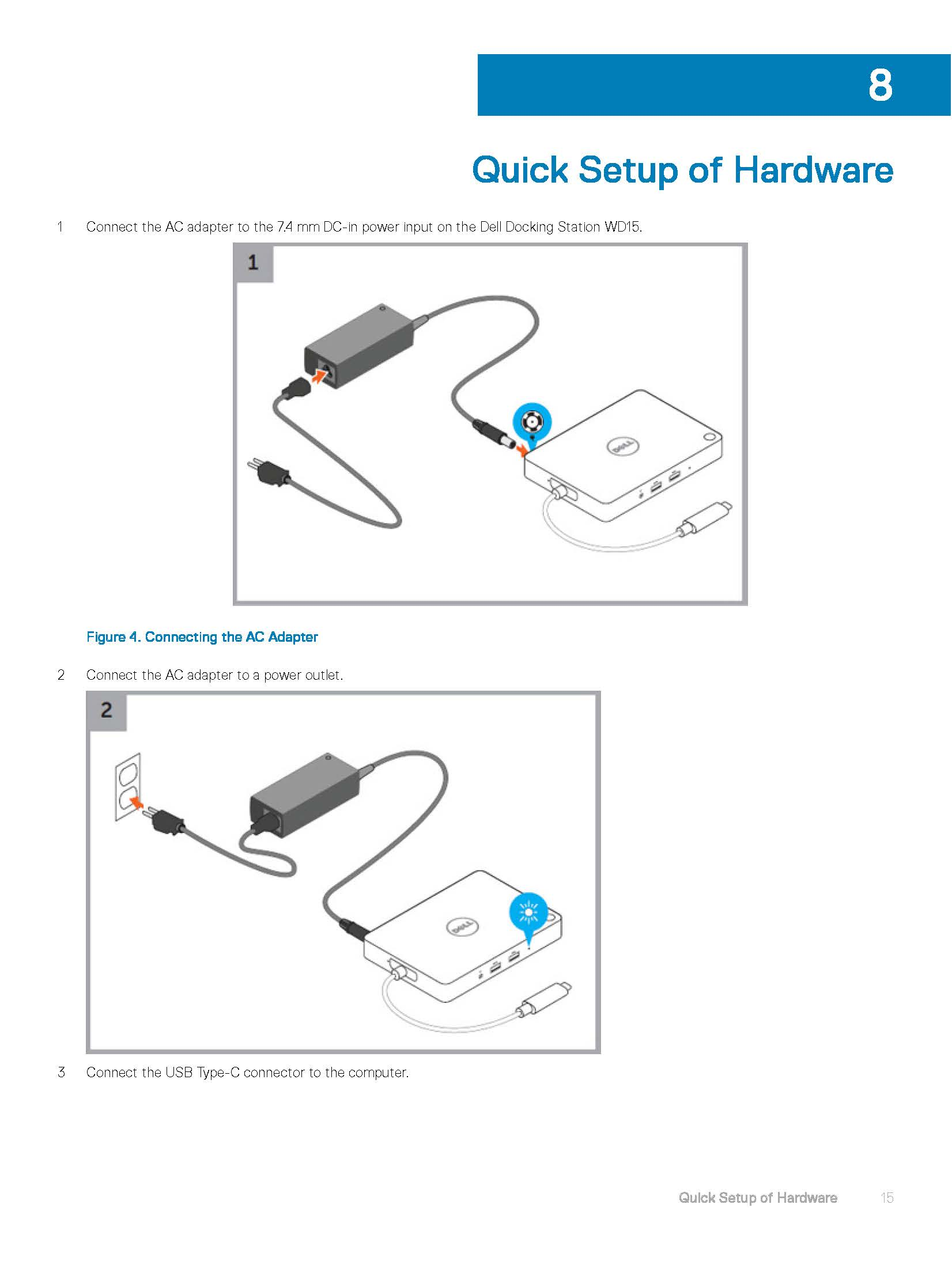 dell dock wd15 users guide en us Page 15