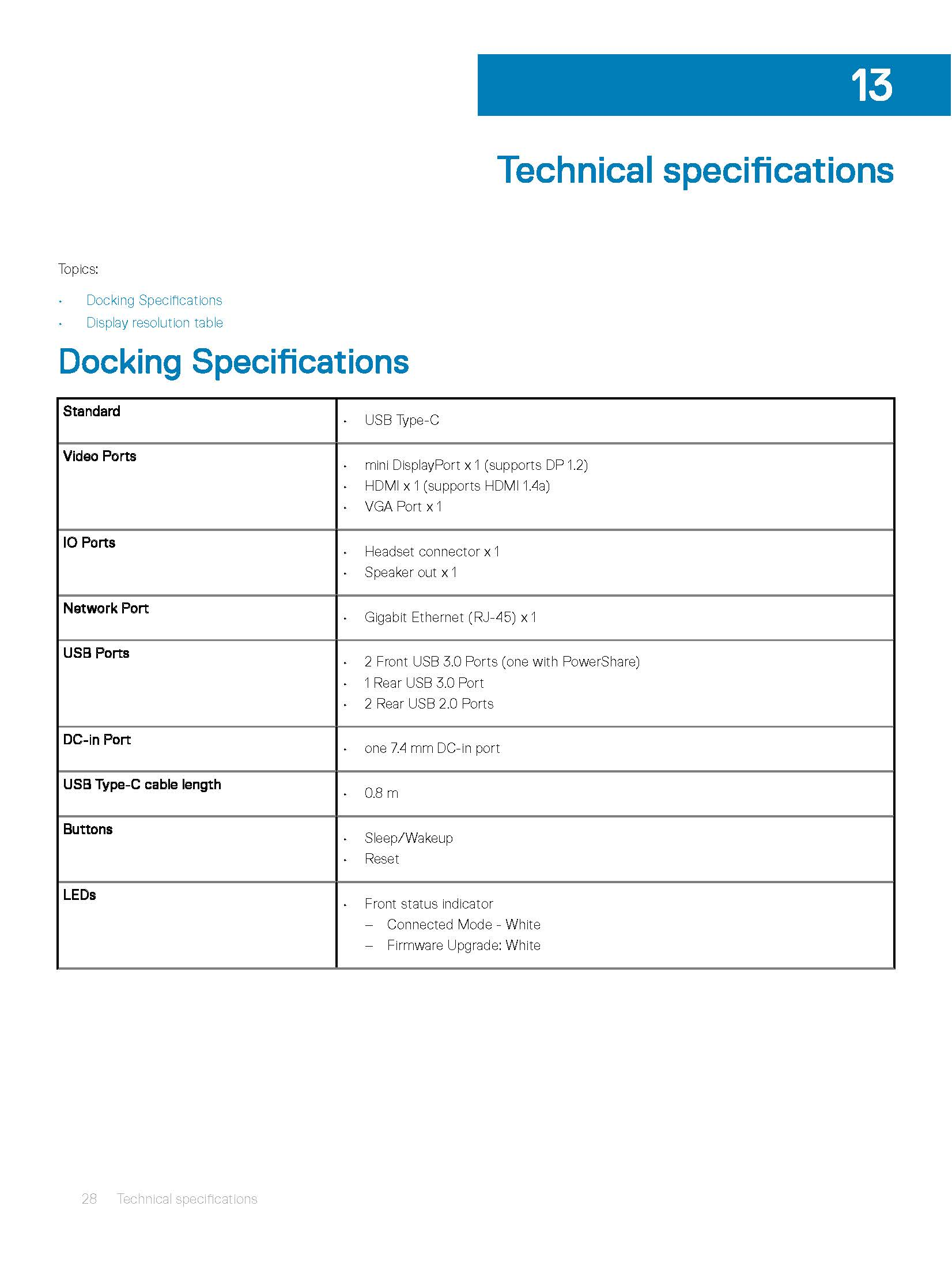 dell dock wd15 users guide en us Page 28